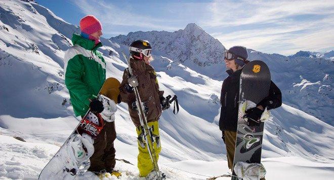 Arlberg Winter - Freeriden in Stuben am Arlberg