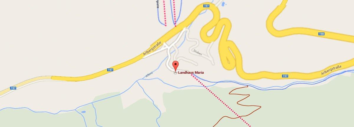 Zimmerverfügbarkeit in Stuben am Arlberg - Winterurlaub in Pension bzw. Hotel-Garni